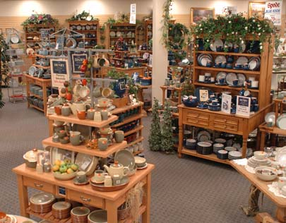 Denby Pottery Display
